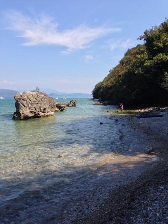 Manerba del Garda, Italia: Spiaggia sup