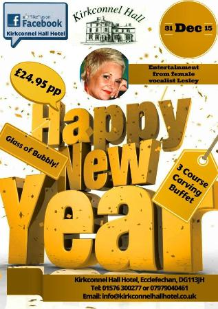 Kirkconnel Hall Hotel: New Year Celebrations 2015/16 - Rooms & Tickets available