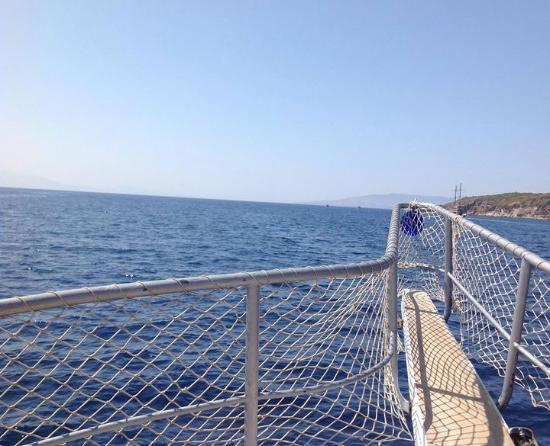 Fantastic views - Bild från Ozzlife Boat, Gumbet - TripAdvisor