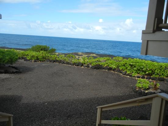 Keaau, Hawái: View from front steps