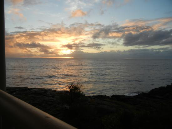 Keaau, Hawái: Early morning sunrise