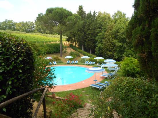 Az. Agr. La Ripa: Zwembad, niet verwarmd, Niet geschikt voor kleine kinderen
