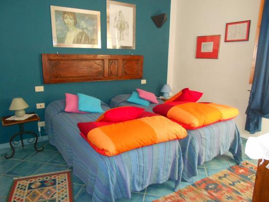 Az. Agr. La Ripa: Een slaapkamer