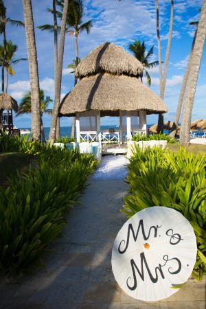Dreams Palm Beach Punta Cana Wedding Gazebo