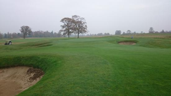 Carton House Golf Club: Lots of bunkers
