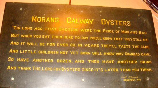 Kilcolgan, أيرلندا: sign