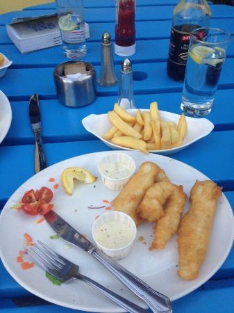 Danno's Bar & Restaurant: Essential meal left over