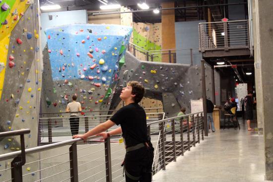 High Point Climbing Huge Gym