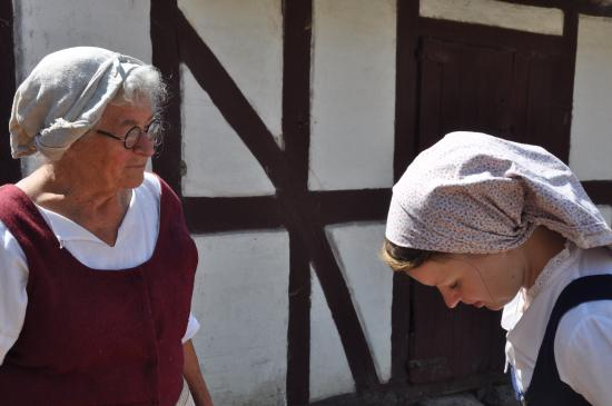 The Funen Village: The bee-woman and the maid