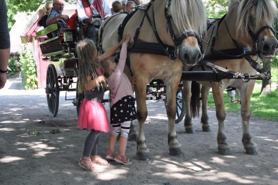 The Funen Village: Take a horsecarriage