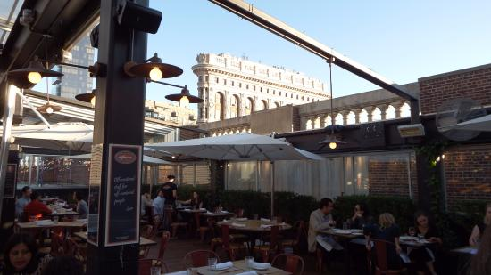 Roof Top Dining   Eataly