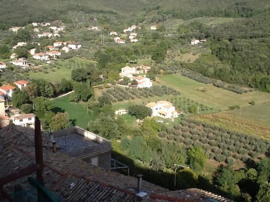 Casperia, Италия: Great views