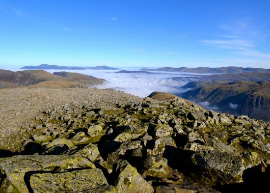 Eskdale, UK: Looking towards Skiddaw and Blencathra