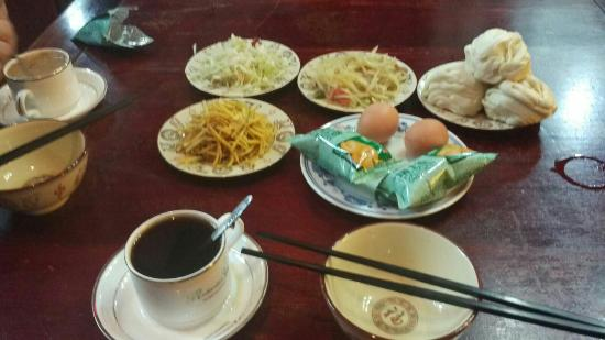 how to write breakfast in chinese