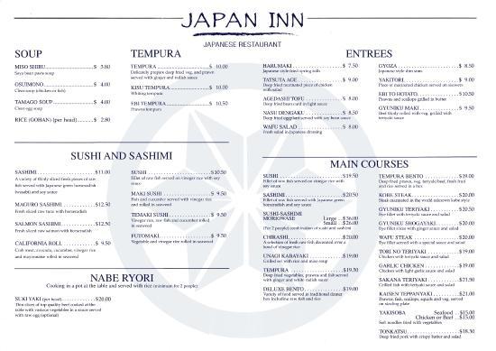 Japanese Restaurant Beaumaris