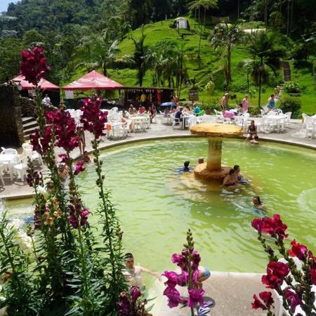 One Of The 3 Hot Spring Pools Picture Of Termales Santa Rosa De