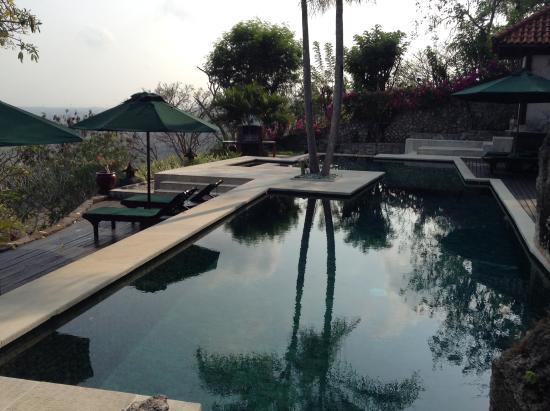 Canang Sari Villas : Villa Jepun - private pool with panoramic views