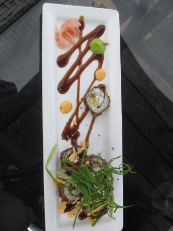 Cowichan Bay, Canadá: Sushi.