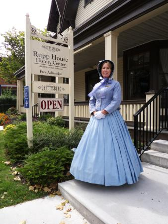 Rupp House : Properly Invited In by Docent