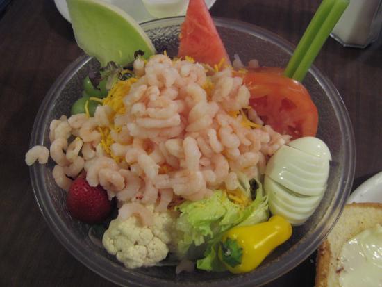 Tulelake, Califórnia: Shrimp Salad