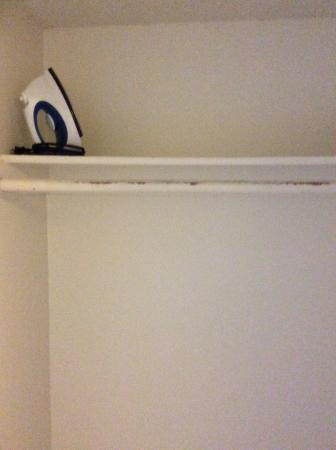The Hawks Nest: Inside of hall closet
