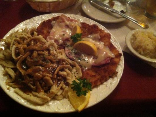 Great German Food!