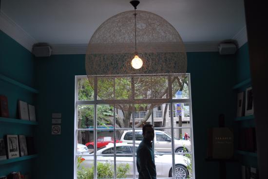 Condesa DF: Biblioteca en las zonas comunes