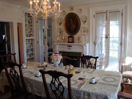 Abbey's High Street Bed and Breakfast: Dining Room