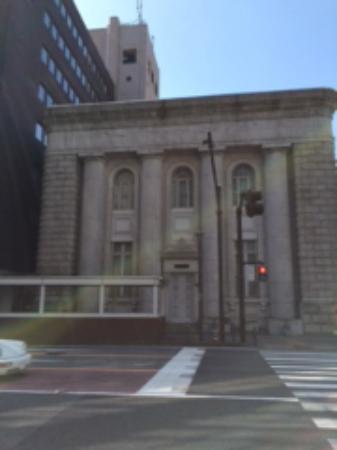 Former Fuji Bank Yokohama Branch: 意外に小さい建物