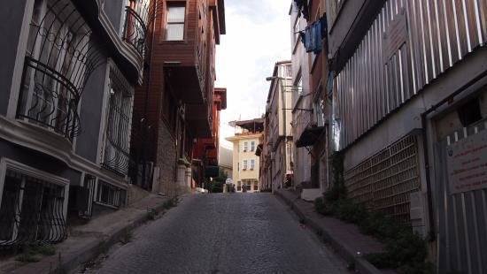 Ercan Inn: Улочки района