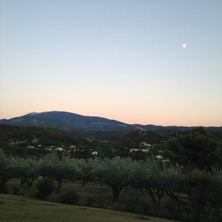 Chanterelle : Mont Ventoux by moonlight