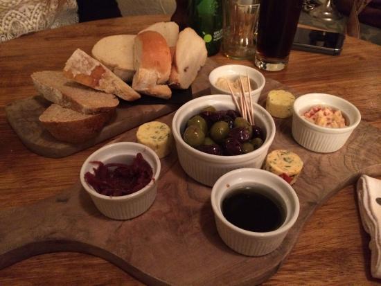 Mellor, UK: Bread board!