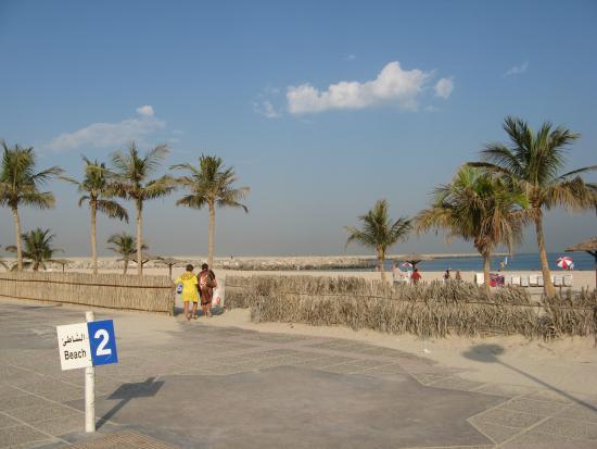 Landmark Plaza Baniyas Hotel: Пляж