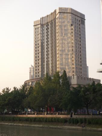 Hotel across Jinjiang River