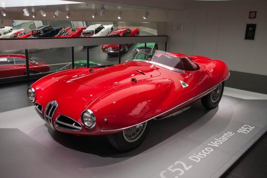 Alfa Romeo Disco Volante >> Alfa Romeo Disco Volante Picture Of Museo Storico Alfa Romeo