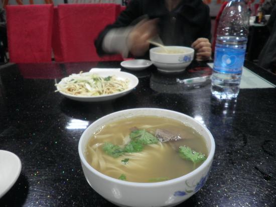 Qiqihar, China: ラーメン小