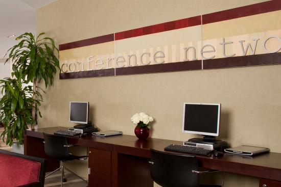 Holiday Inn Sofia : Business Center on self contained Conference level