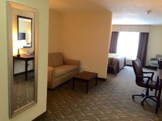 Comfort Inn & Suites: King Suite