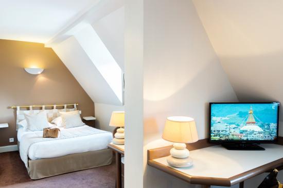Hotel les Nations : Chambre familiale