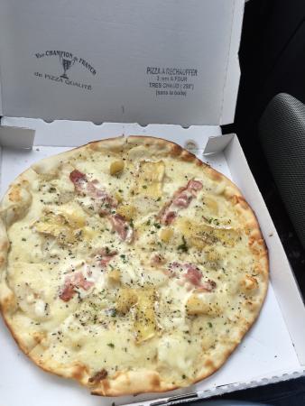 Tout un plat pour une pizza