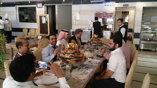 Al Nafoura Restaurant Old Airport Road Branch