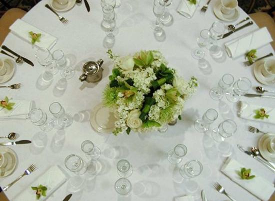 Hilton Strathclyde: Wedding Table