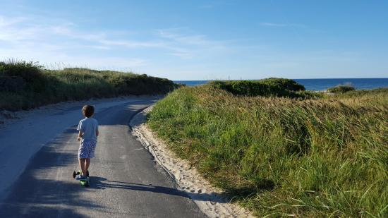 Albaek, Dinamarca: Road to the beach