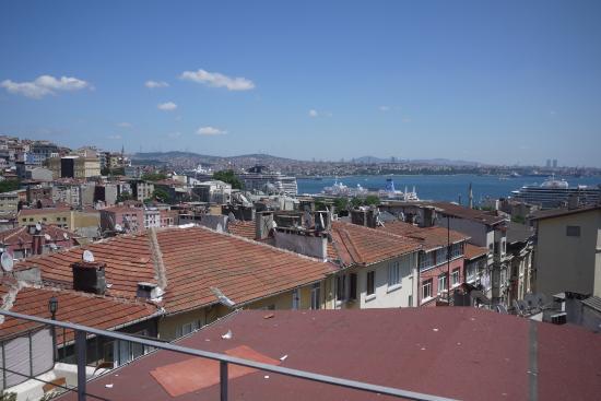 Rooms Galata: Uitzicht