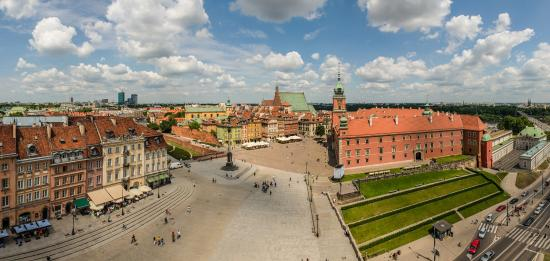 Warsaw, Poland: Castle Square