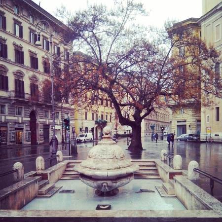 Piazza Della Chiesa Nuova Roma Picture Of Smaria In Vallicella