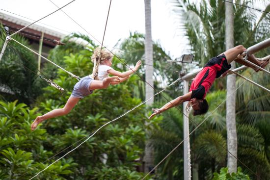 "Flying Trapeze Phuket Adventure KidzSole: Flying Trapeze Adventure ""Learn to Fly"" Catch me if you can"