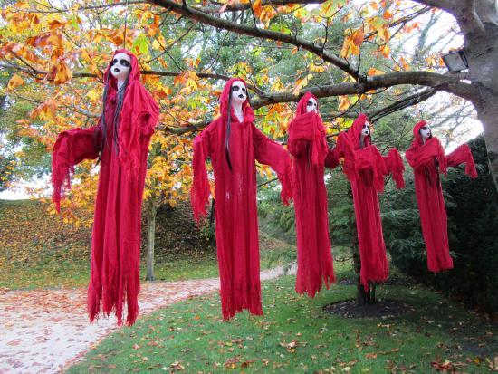 Halloween attractions - Picture of The Alnwick Garden, Alnwick ...