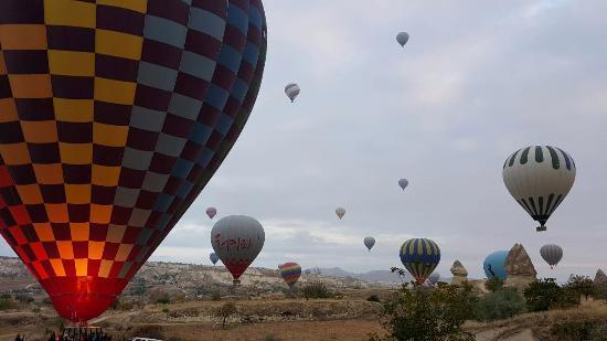 Safran Cave Hotel: Cappadocia Balloon