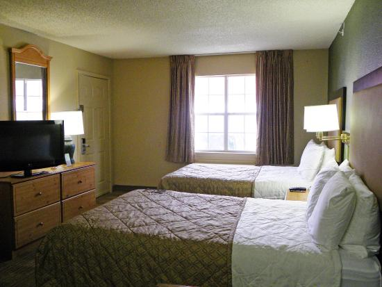Extended Stay America - Houston - Willowbrook: Studio Suite - 2 Double Beds